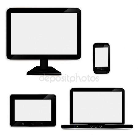 caign template realistic laptop tablet computer monitor and mobile phone template stock vector 169 analia26