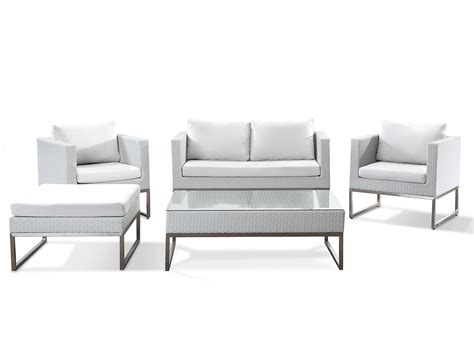 modern outdoor conversation set wicker patio furniture