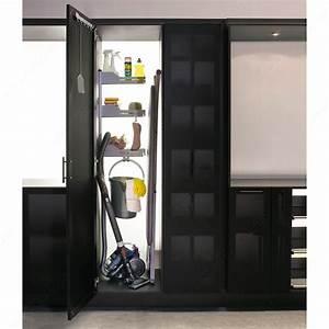 Armoire Range Balai : syst me de rangement pour armoire balai sesam 6356110 salle de montre ~ Melissatoandfro.com Idées de Décoration