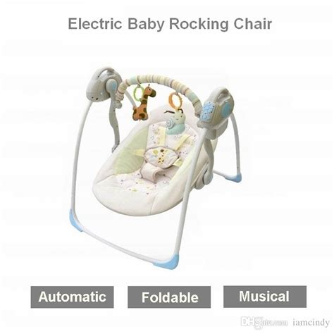 2017 electric baby bouncers electric rocking chair kid