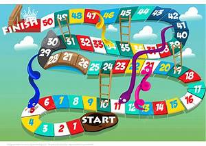 Printable Board Game With Snakes And Ladders Free