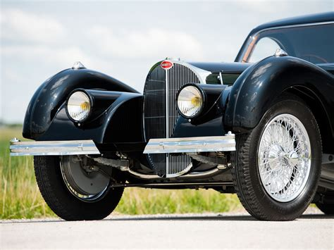 Type 57s were built from 1934 through 1940, with a total of 710 examples produced. RM Sotheby's - 1937 Bugatti Type 57SC Atalante | Private Sales