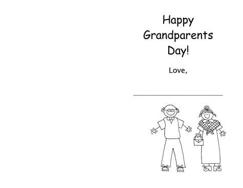 Printable Grandparents Day Poems