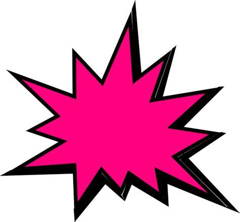 Pow Clipart Pink Comic Pow Clip At Clker Vector Clip