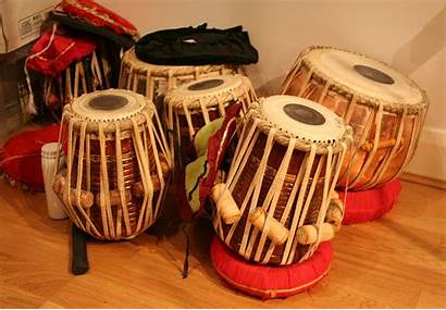 Drums Traditional India Tabla Different Beats