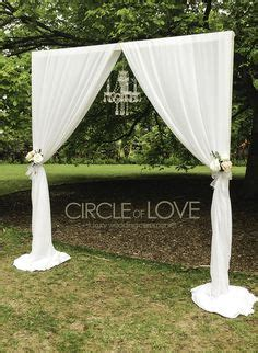 how to make a portable wedding backdrop frame with pvc