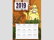 2017 2018 2019 calendar free vector download 1,637 Free
