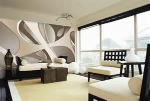 tapetengestaltung wohnzimmer tapeten ideen wohnzimmer muster grau schwunghaft fototapete ausgefallene tapeten materialien
