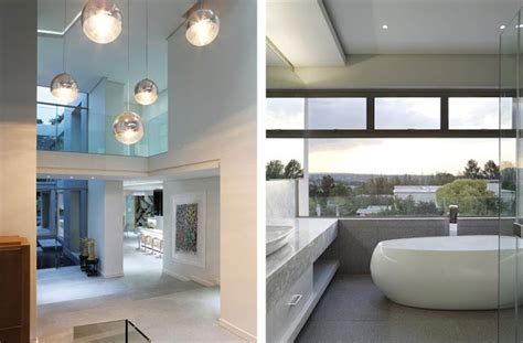 Modern Bathroom Mirrors South Africa by Paradise Found Hyde Park Luxurious Contemporary Mansion