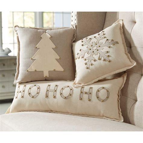 mud pie mh6 lodge christmas home decor studded holiday pillows 4165007 designs ebay