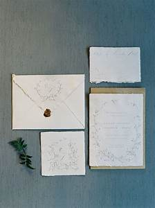 2 simple elegant wedding invitations kristin banta With elegant wedding invitations los angeles
