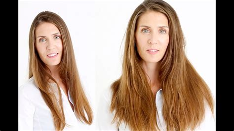 How To Clip In Hair Extensions For More Volume Youtube