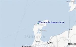 Wazima  Ishikawa  Japan Tide Station Location Guide
