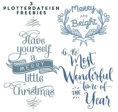 Fensterdeko Weihnachten Plotten by Freebie 3 Weihnachtliche Plotterdateien Happy Serendipity