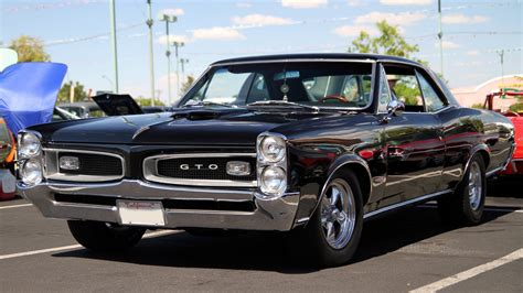 Cars Pontiac Gto Widescreen Wallpaper