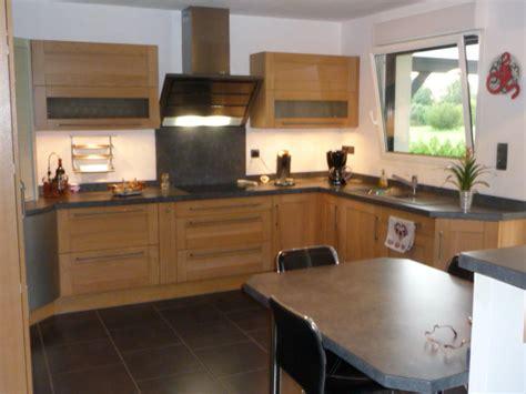 cuisine chene clair contemporaine maison design bahbe com
