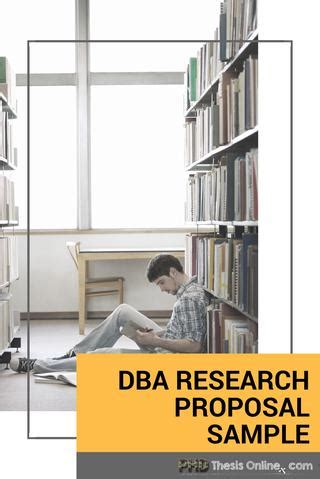 dba research proposal sample  phd thesis  issuu