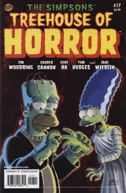 Bart Simpson's Treehouse Of Horror (volume)  Comic Vine