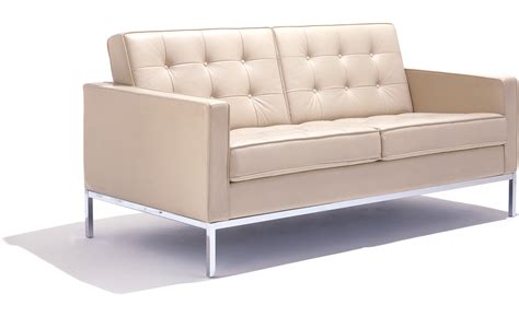 settee loveseat florence knoll settee hivemodern