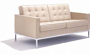 florence knoll settee hivemoderncom With couch florence sofa