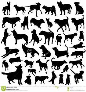 Collection of dog vector stock vector. Illustration of ...
