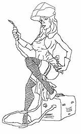Welder Drawing Welding Skull Tattoo Sketch Coloring Pages Getdrawings Template sketch template