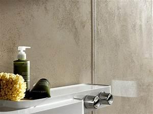 wand06 senza das fugenlose bad aus kalk marmor putz With markise balkon mit putz auf tapete
