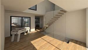 Hall Entrée Maison Moderne : jacques lenain architecte lille ~ Melissatoandfro.com Idées de Décoration