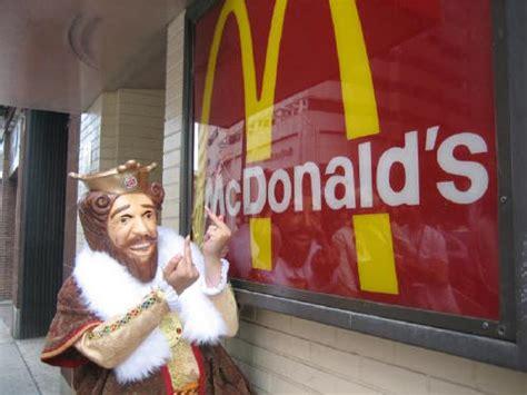 Burger King Meme - image 761595 ronald mcdonald vs the burger king know your meme