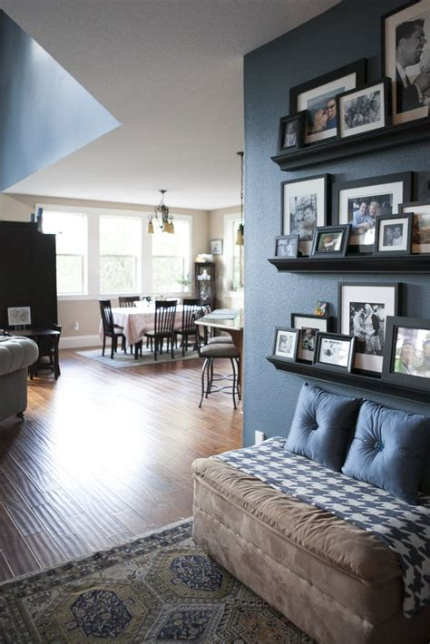 amazing picture ledge ideas  creating  statement wall