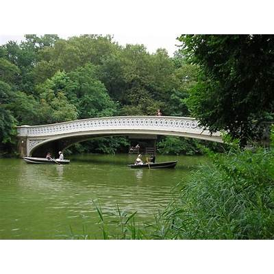 Panoramio - Photo of Central Park Bow Bridge