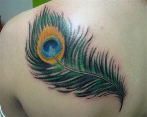 50 Beautiful Peacock Feather Tattoos Ideas