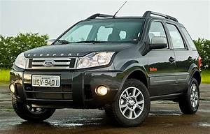 Ford Ecosport Chega  U00e0 Linha 2011 Com Retoques Visuais E