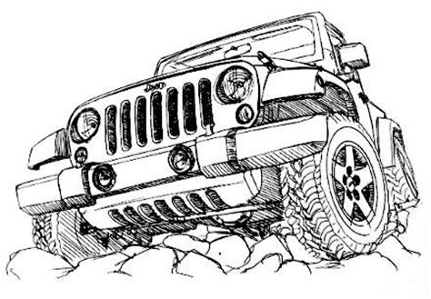 4 door jeep drawing rockriders jeep parts accessories