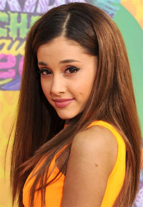 Ariana grande — 7 rings 02:58. March 2014 | Ariana Grande Without a Ponytail Pictures | POPSUGAR Beauty Australia Photo 11