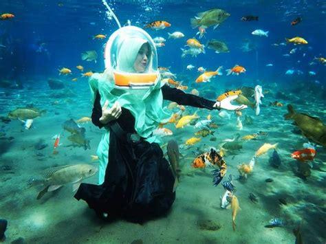 wisata snorkeling keren umbul ponggok klaten jawa tengah