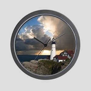 lighthouse wall clocks cafepress