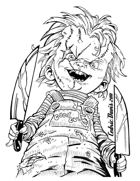 chucky coloring pages Best Chucky Coloring Pages   ideas and images on Bing | Find what  chucky coloring pages