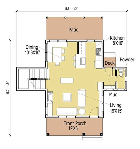 open plan cottage design inspiration 1000 ideas about cottage house plans on house
