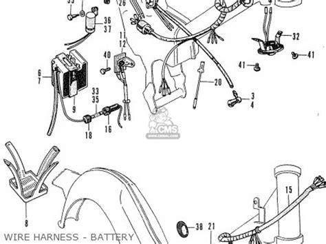 honda c50 cub 1969 parts list partsmanual partsfiche