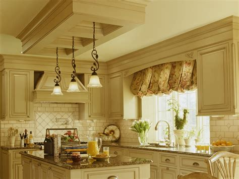 Kitchen With Black Appliances, Yellow Kitchen Walls With