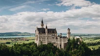 Castle Germany Neuschwanstein Bavaria 4k Background 1920