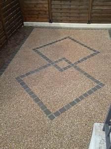 beton desactive sud ouest pinterest beton desactive With allee de jardin pour voiture 15 pour votre cour ou accas de garage un revetement en
