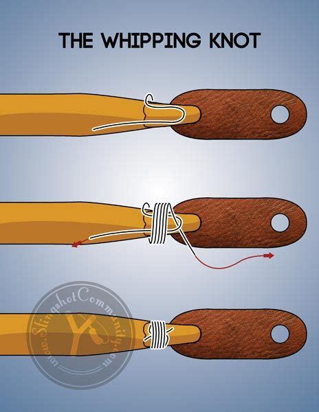 whipping method  tying  slingshot bands  good