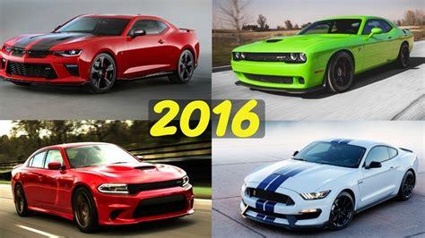 2016 American Muscle Car Comparison!  Hellcat, Camaro