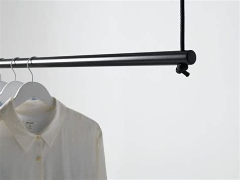 Suspended Ceiling Rails by Best 25 Hanging Clothes Racks Ideas On