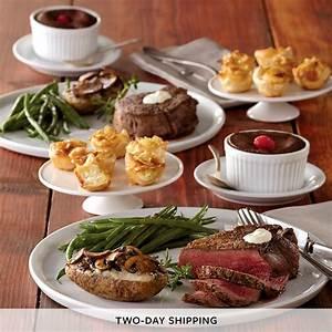 Filet Mignon Dinner for Two   Dinner Delivered   Harry & David