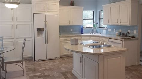 white washed kitchen cabinets diy kitchen remodel on a budget painted white washed 1488