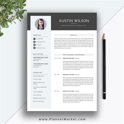 1 page resume format in word best resume templates