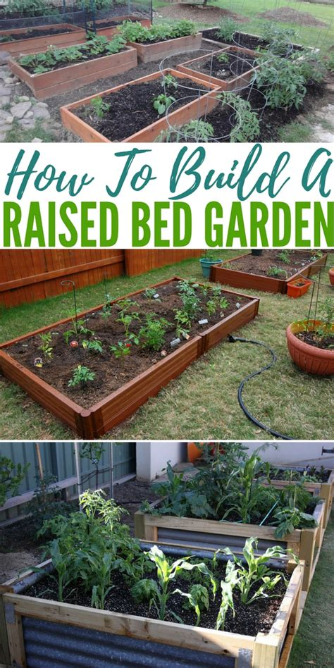 how to make a raised garden bed how to build a raised bed garden